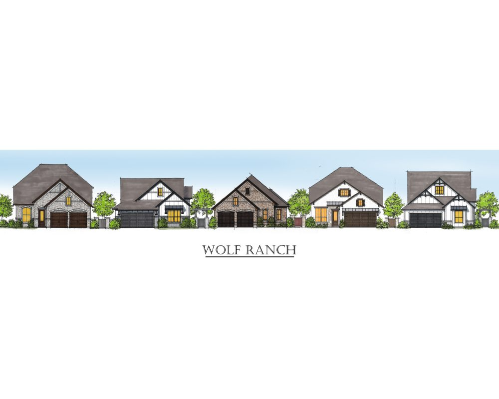 Wolf Ranch Streetscape